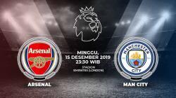 Pertandingan Liga inggris 2019-2020 antara Arsenal vs Manchester City akan menyajikan duel sengit. Berikut link live streaming untuk menyaksikannya.