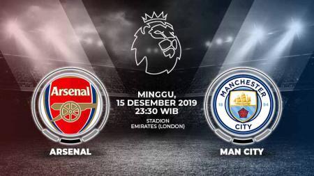 Berikut prediksi pertandingan antara Arsenal vs Manchester City dalam lanjutan Liga Inggris 2019-2020 pekan ke-17 - INDOSPORT