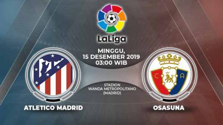 Link Live Streaming LaLiga Spanyol: Atletico Madrid vs Osasuna. - INDOSPORT