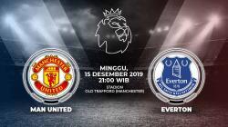 Berikut link live streaming pertandingan sepak bola kompetisi Liga Inggris pekan ke-17 antara Manchester United vs Everton.
