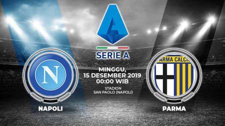 Prediksi pertandingan Serie A Liga Italia antara Napoli vs Parma, Minggu (15/12/19). - INDOSPORT