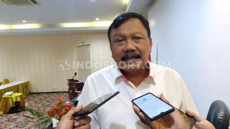 Wakil I Ketua Umum KONI Pusat, Suwarno. - INDOSPORT