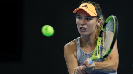 Caroline Wozniacki dalam turnamen tenis China Terbuka 2019. - INDOSPORT