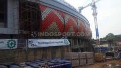 Indosport - Stadion Jatidiri yang tengah Direnovasi oleh Pemprov Jawa Tengah.