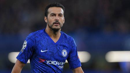 Pemain Chelsea, Pedro Rodriguez, tampaknya tinggal selangkah lagi untuk bisa gabung ke klub Serie A Liga Italia, AS Roma, setelah menyepakati kontrak dua tahun. - INDOSPORT