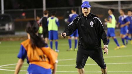 Berikut profil singkat dari pelatih asal Korea Selatan Kim Sang-hoon yang tertarik untuk menangani peserta Liga 2 2020 Sriwijaya FC. - INDOSPORT