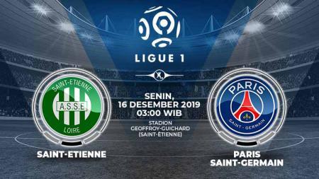 Berikut prediksi pertandingan antara AS Saint-Etienne vs Paris Saint-Germain dalam lanjutan pekan ke-18 Ligue 1 Prancis. - INDOSPORT