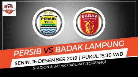 Berikut link live streaming pertandingan sepak bola kompetisi Shopee Liga 1 2019 pada pekan ke-33 antara Persib Bandung vs Badak Lampung FC. - INDOSPORT