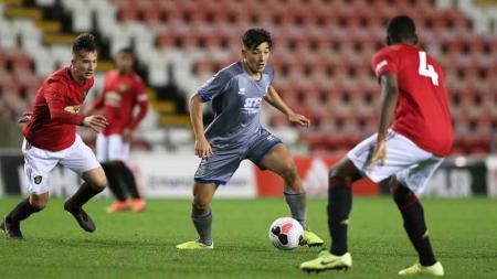 Pemain dari Lincoln City muda Asal Indonesia, Jack Brown bisa mengancam 3 pemain Timnas Indonesia U-19. - INDOSPORT