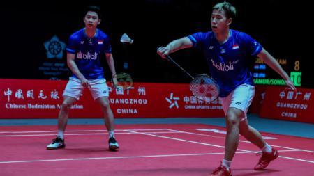 Media Malaysia klaim pelatih ganda putra baru Malaysia, Flandy Limpele punya cara khusus untuk wakilnya bisa kalahkan pasangan Kevin Sanjaya/Marcus Gideon. - INDOSPORT