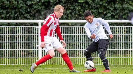 Ada sosok 'legenda Italia' dalam diri striker Garuda Select, Muhammad Fajar Fathur Rahman, yang pernah dijuluki Vincenzo Montella. - INDOSPORT
