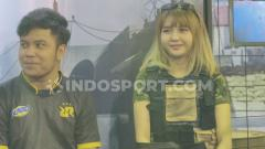 Indosport - Youtuber game cantik pesaing Kimi Hime, Sarah Viloid.