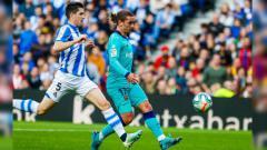 Indosport - Hasil Pertandingan LaLiga Spanyol Real Sociedad vs Barcelona.