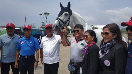 Kompetisi ketangkasan berkuda di Indonesia atau Equestrian Championship League (ECL) resmi digelar. - INDOSPORT