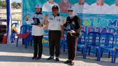 Indosport - Festival Senam SKJ 2019 akhirnya sampai puncaknya. Kabupaten Wakatobi, Sulawesi Tenggara, menjadi lokasi puncak festival besutan Kemenpora ini.