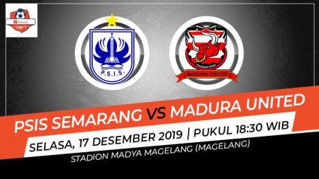 Pertandingan antara PSIS Semarang vs Madura United dalam lanjutan Liga 1 pekan ke-33, Selasa (17/12/19) berakhir dengan kemenangan tim tamu. - INDOSPORT