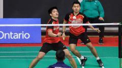 Indosport - Salah satu pebulutangkis muda Terbaik Indonesia, Leo Rolly dan Daniel Marthin.