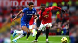 Hasil Pertandingan Liga Inggris Manchester United vs Everton.