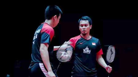 Ahsan-Hendra Juara di BWF World Tour Finals 2019. - INDOSPORT
