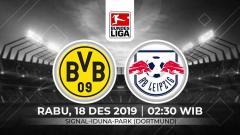 Indosport - Prediksi pertandingan Bundesliga Jerman pada pekan ke-16 antara Borussia Dortmund vs RB Leipzig.