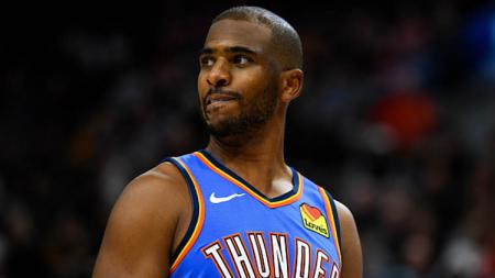 Chris Paul, bintang basket NBA milik tim Oklahoma City Thunder. - INDOSPORT