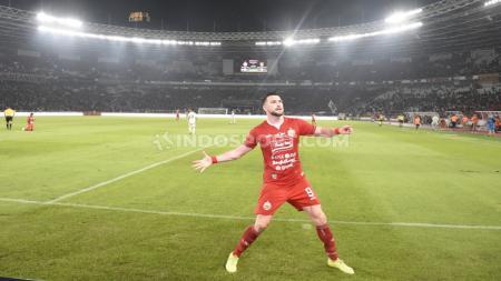 Asisten pelatih Klub Liga 1 Persija Jakarta, Stefano Impagliazzo puas dengan dampak latihan fisik yang diterapkan ke pemain, tak terkecuali Marko Simic. - INDOSPORT