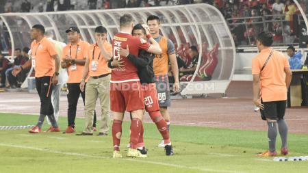 Bambang Pamungkas dan Ismed Sofyan menjadi alasan mengapa Marko Simic perpanjang kontrak dengan klub Liga 1 Persija Jakarta tiga tahun kedepan. - INDOSPORT