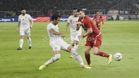 Laga Liga 1 antara Persija Jakarta vs Persebaya Surabaya. - INDOSPORT