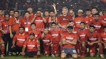 Momen perpisahan Bambang Pamungkas dengan Persija Jakarta di SUGBK - INDOSPORT