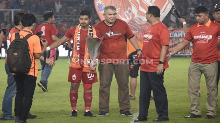 Mantan gelandang AC Milan, Michael Essien, turut komentari keputusan legenda klub Liga 1 Persija Jakarta, Bambang Pamungkas, pensiun dari sepak bola. - INDOSPORT