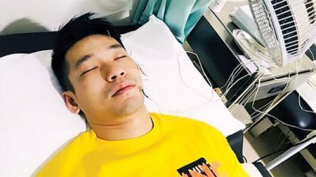 Pebulutangkis Malaysia, Chan Peng Soon, menjalani perawatan karena mengidap Bell's Palsy. - INDOSPORT