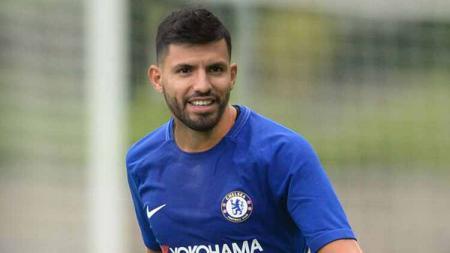Sergio Aguero punya alasan mutlak membelot ke Chelsea usai tinggalkan raksasa Liga Inggris, Manchester City. - INDOSPORT