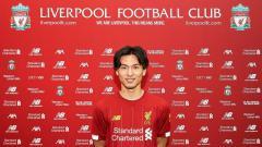 Indosport - Liga Inggris menjadi alasan terbesar Takumi Minamino hijrah ke Liverpool dari Red Bull Salzburg pada Januari 2020 mendatang