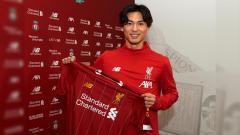 Indosport - Pemain baru Liverpool Takumi Minamino.
