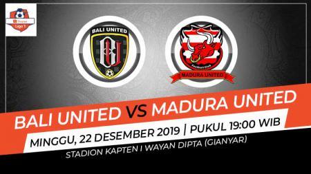 Prediksi pertandingan Liga 1 antara Bali United vs Madura United. - INDOSPORT