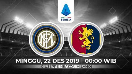 Berikut link live streaming pertandingan Serie A Liga Italia 2019-2020 antara Inter Milan vs Genoa. - INDOSPORT