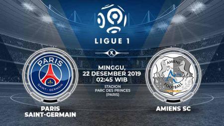Berikut prediksi pertandingan sepak bola Ligue 1 Prancis pada pekan ke-19 antara Paris Saint-Germain (PSG) vs Amiens SC. - INDOSPORT