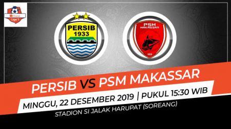 Persib Bandung akan menjamu PSM Makassa dalam laga terakhir Liga 1 2019 yang digelar pada Minggu (22/12/2019) di Stadion Gelora Bandung Lautan Api. - INDOSPORT