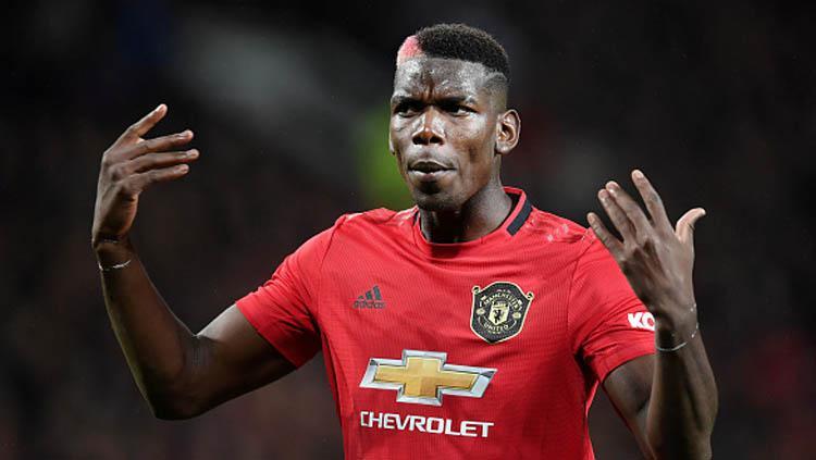 Pemain bintang klub Liga Inggris, Manchester United, Paul Pogba. Copyright: Michael Regan/GettyImages