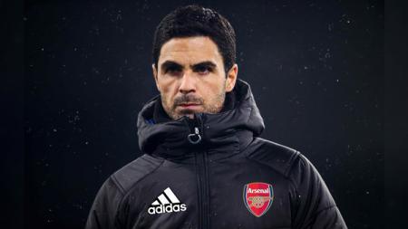 Mikel Arteta selaku pelatih raksasa Liga Inggris, Arsenal menjawab isu terkait minat Barcelona terhadap Pierre-Emerick Aubameyang sebagai pengganti Luis Suarez. - INDOSPORT