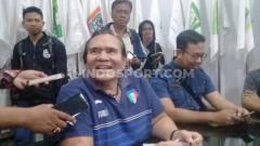 Indosport - Presiden NPC Indonesia, Senny Marbun saat jumpa pers mengenai ASEAN Paragames 2020 yang ditunda hingga bulan Maret.