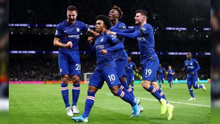 Susunan Pemain Liga Inggris Newcastle United vs Chelsea - INDOSPORT