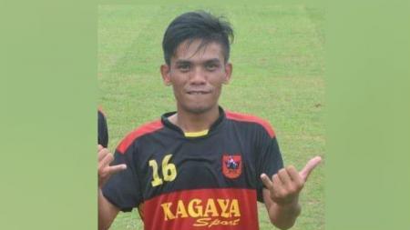 Almarhum Roy Chandra Peranginangin saat masih berseragam klub sepak bola asal Medan, Gumarang FC. - INDOSPORT