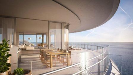 Villa dengan tiga kamar tidur milik Novak Djokovic ini memiliki pemandangan ke arah laut yang cantik.