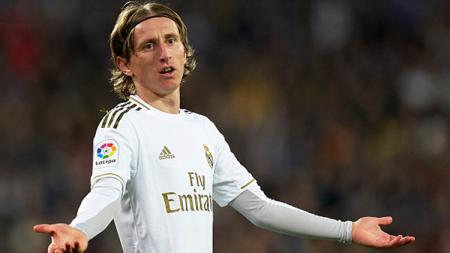Luka Modric, playmaker Real Madrid - INDOSPORT