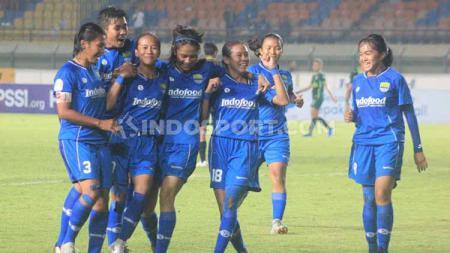 Asisten pelatih Persib Putri, Fauzi Bramantio memastikan timnya ingin membuat sejarah sebagai juara pada kompetisi sepak bola Liga 1 Putri 2019. - INDOSPORT