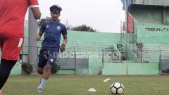 Indosport - Pemain Arema FC, Jayus Hariono.