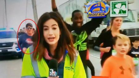 Seorang pelari marathon, Tommy Callaway mendapatkan hukuman berat usai melecehkan seorang reporter wanita, Alex Bozarjian - INDOSPORT