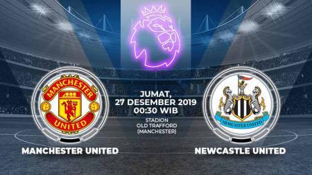 Berikut link live streaming pertandingan Liga Inggris 2019/20 di mana, pada boxing day, Manchester United menjamu Newcastle United di Stadion Old Trafford, Jumat (27/12/19) pukul 00.30 WIB. - INDOSPORT
