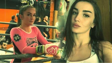 Petarung MMA Wanita, Diana Avsaragova. - INDOSPORT